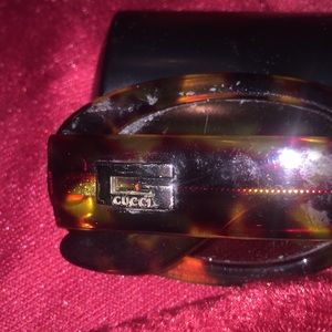GUCCI Authentic vintage Tortoise Shell.  No Flaws.